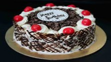Eggless Black Forest cool Cake 1kg