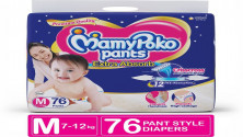 MamyPoko Pants Extra Absorb Diapers - M  (76 Pieces)