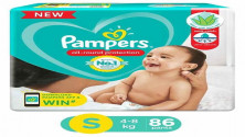Pampers All round Protection Pants, Small size (SM) 86 MRP:1149