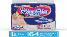 MamyPoko Pants Extra Absorb Diapers - L  (64Pieces) MRP:999