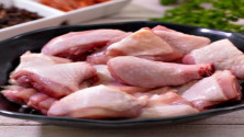 Chicken Skin Normal cut 1kg