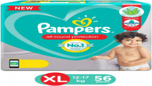 Pampers All round Protection Pants, size (XL) 56 Count MRP:1149