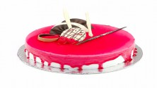 Straw berry Cool Cake - 1/2 kg