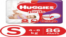 Huggies Wonder Pants Small Pant Style Diapers - 86 Pieces MRP:10