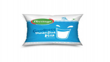 Heritage Toned Milk - Special, 500 ml Pouch